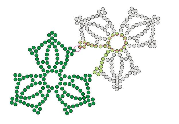 Схемы широких браслетов из бисера
